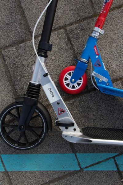 Go by scooter