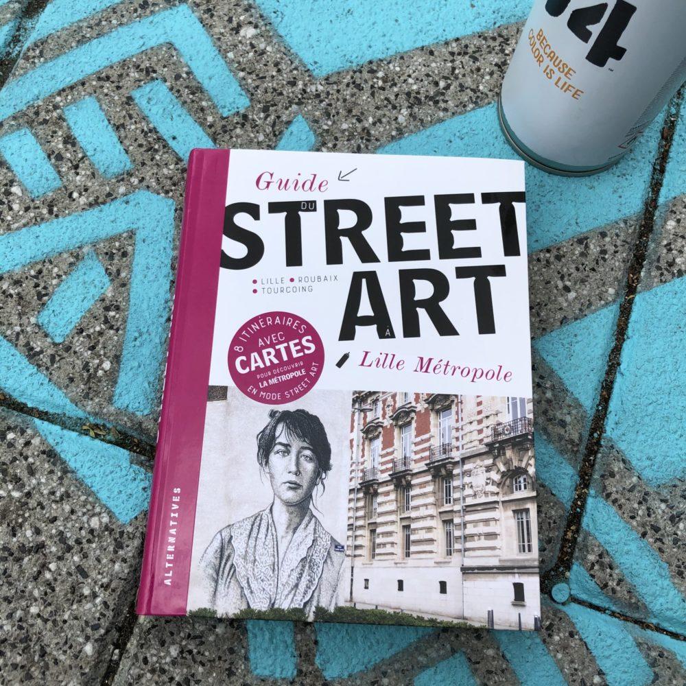 Lille métropole a désormais son guide street art !